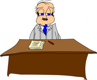 Image result for cartoon bureaucrat