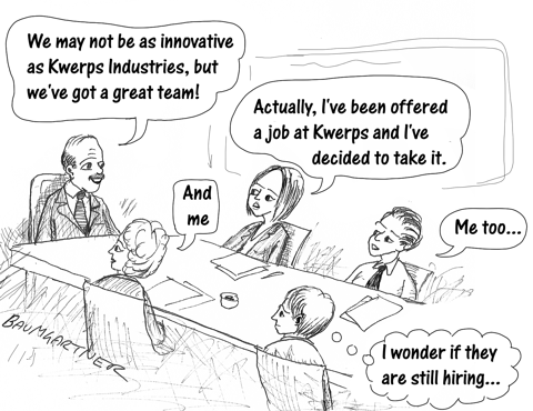 Cartoon: The Cost of Not Innovating