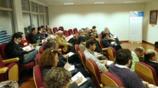 Audience at Algarvia Workshop