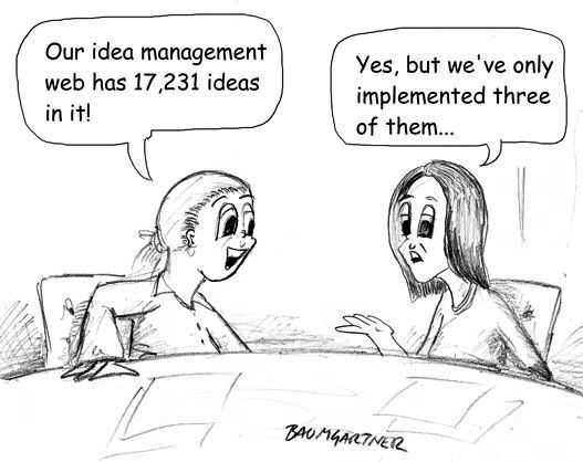 Idea Management cartoon