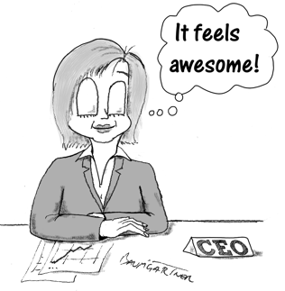 Cartoon: it feels awesome