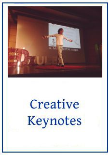 Link to info about my creative keynotes complete with cartoons