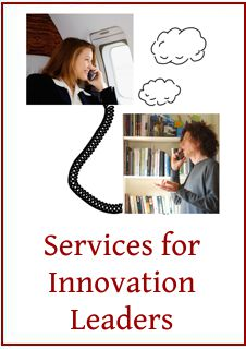 Link to more info on services for innovation leaders