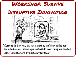 Link to workshop on How to Survive Disruptive Innovation